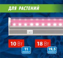 Новые модели светильников для растений в серии ULI-P